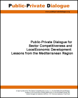 Click here to access the report: Public-Private Dialogue for Sector Competitiveness and Local Economic Development